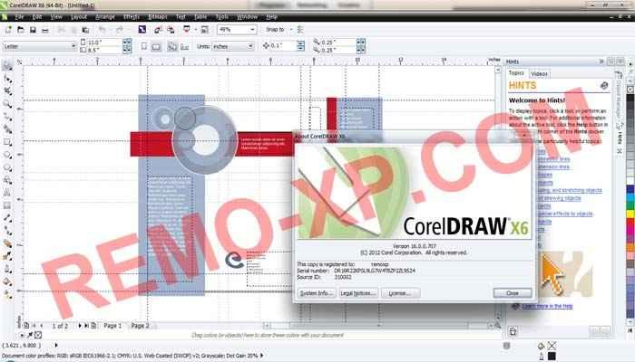 keygen core corel draw x6 download